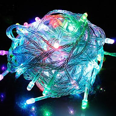 6,8 Žice sa svjetlima 56 LED diode Više boja Ukrasno 220-240 V 1set