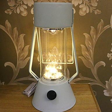 1pc Noćno svjetlo za stol Toplo bijelo AA baterije su pogonjene New Design / Cool <5 V