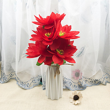 Umjetna Cvijeće 1 Podružnica Klasični Simple Style Vječni cvjetovi Cvjeće za stol