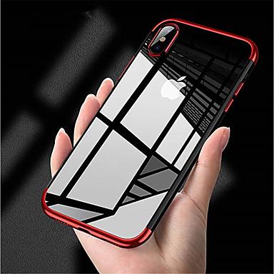 Θήκη Za Apple iPhone XS / iPhone XR / iPhone XS Max Pozlata Stražnja maska Jednobojni Mekano TPU