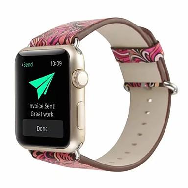 prava koža / Poli uretanska Pogledajte Band Remen za Apple Watch Series 4/3/2/1 Crvena 23 cm / 9 inča 2.1cm / 0.83 Palac