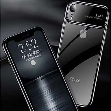 Θήκη Za Apple iPhone XS / iPhone XR / iPhone XS Max Zrcalo / Prozirno Stražnja maska Jednobojni Tvrdo PC