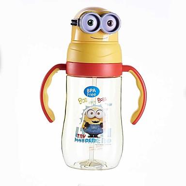 Drinkware Slamke / Voda i lonac za vodu Plastika / PP + ABS Prijenosno / Mini / Crtani film Dar / Ležerno / za svaki dan