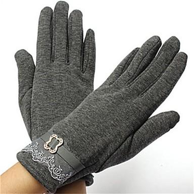 Cijeli prst Žene Moto rukavice Pamuk / Polyster Prozračnost / Ugrijati