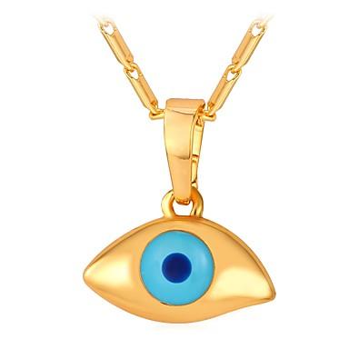 Žene Ogrlice s privjeskom zdepast Eyes dame Moda Slatka Style Kamen Zlato Pink 55 cm Ogrlice Jewelry 1pc Za Dar Dnevno