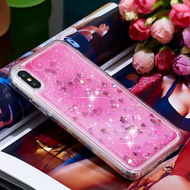 Θήκη Za Apple iPhone X / iPhone 8 Plus S tekućinom Stražnja maska Jednobojni Mekano TPU za iPhone XS / iPhone X / iPhone 8 Plus