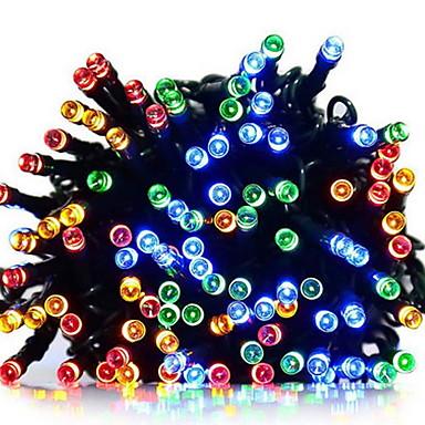 10m Žice sa svjetlima 100 LED diode Više boja Sunce / Ukrasno Napelemes 1set