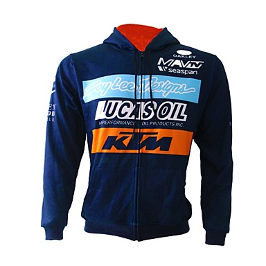 baratos Jaquetas de Motociclista-KTM Roupa da motocicleta Camisas e Tops para Todos Flanela / Raiom / Poliéster Outono / Inverno Flexível / Secagem Rápida / Filtro Solar