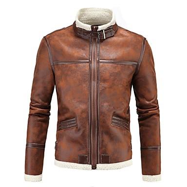 AOWOFS D042 Odjeća za motocikle Zakó za Muškarci PU koža Proljeće & Jesen / Zima Otporne na nošenje / Protection