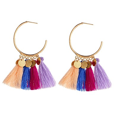 Žene Viseće naušnice Vintage Style Rese dame Aristocrat Lolita Naušnice Jewelry Duga / Light Red / Zelen Za Zabava / večer Svečanost 1 par