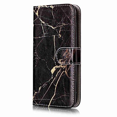 رخيصةأون حافظات / جرابات هواتف جالكسي J-غطاء من أجل Samsung Galaxy J7 (2016) / J7 / J5 (2017) محفظة / حامل البطاقات / مع حامل غطاء كامل للجسم حجر كريم قاسي جلد PU