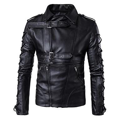 AOWOFS B002 Odjeća za motocikle Zakó za Muškarci PU koža Proljeće & Jesen / Zima Otporne na nošenje / Protection