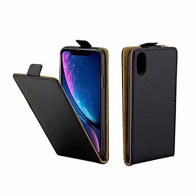 Θήκη Za Apple iPhone XS Max Utor za kartice / Zaokret Korice Jednobojni Tvrdo PU koža