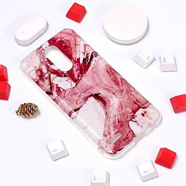 رخيصةأون LG أغطية / كفرات-غطاء من أجل LG LG V30 / LG K10 2018 / LG K10 (2017) نموذج غطاء خلفي حجر كريم ناعم TPU