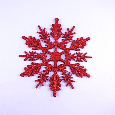 abordables Decoración del Hogar-Navidad Vacaciones Plástico y metal Mini Novedades Decoración navideña