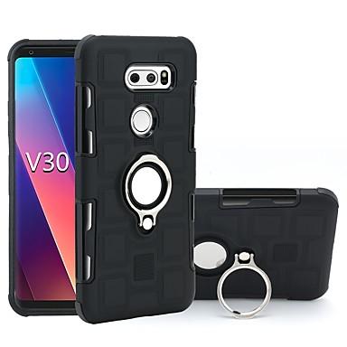 Θήκη Za Samsung Galaxy LG V30 / LG Q6 Otporno na trešnju / Prsten držač Stražnja maska Oklop Mekano TPU