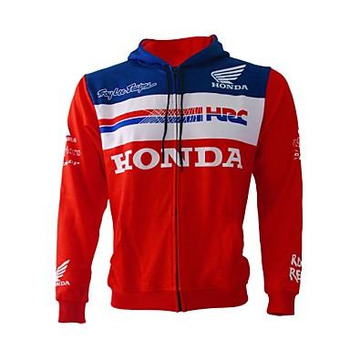 Недорогие Мотоциклетные куртки-мотоциклетная одежда и футболка для унисекс фланелевая / полиэстер жаккардовая весна / зима гибкая / быстрая сушка / солнцезащитный крем для мотогонок байкер езда дышащая бронированная всепогодная