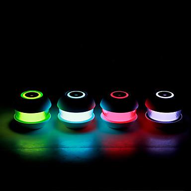 BRELONG® 1pc Noćno svjetlo za stol RGB USB Jednostavno za nošenje / vlažnoj / Lampa atmosfere 5 V