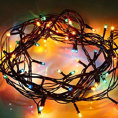 3M Žice sa svjetlima 40 LED diode Više boja Ukrasno AA baterije su pogonjene 1set