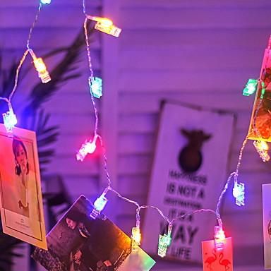 3M Žice sa svjetlima 17 LED diode Više boja Ukrasno AA baterije su pogonjene 1set