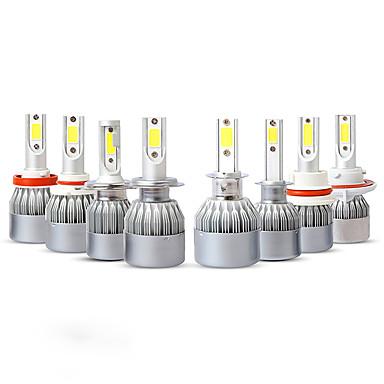 voordelige Autokoplampen-1 Stuk H8 / 9006 / 9005 Automatisch Lampen 36W COB 3800lm Koplamp