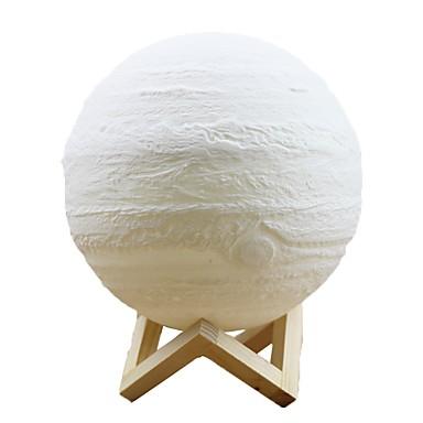 jupiter daljinski upravljač 16 boja 8cm pametna svjetla mxd3 0804 3d svjetlo za ispis kući dekorativno noćno svjetlo za poklon