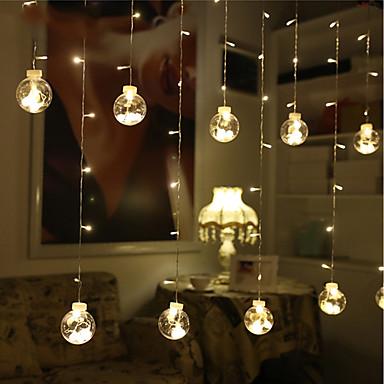 BRELONG® 3M Žice sa svjetlima 120 LED diode Toplo bijelo Vodootporno / Ukrasno 220-240 V 1pc