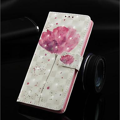 Θήκη Za Huawei Huawei Nova 3i / Huawei P Smart Plus / Huawei Mate 20 lite Novčanik / Utor za kartice / sa stalkom Korice Cvijet Tvrdo PU koža