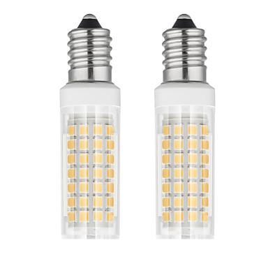 2pcs 6 W 750 lm E14 LED klipaste žarulje T 88 LED zrnca SMD 2835 Toplo bijelo / Hladno bijelo 85-265 V