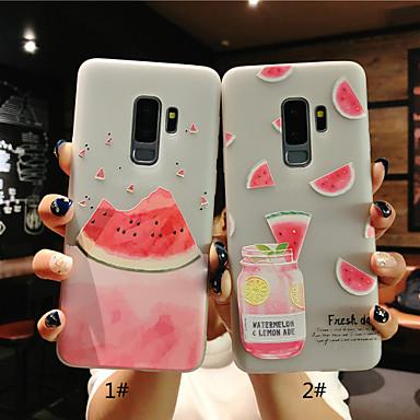 Θήκη Za Samsung Galaxy S9 / S9 Plus / S8 Plus Mutno / Translucent / Reljefni uzorak Stražnja maska Voće Mekano TPU