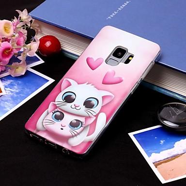 Θήκη Za Samsung Galaxy S9 / S9 Plus / S8 Plus IMD / Translucent Stražnja maska Mačka Mekano TPU
