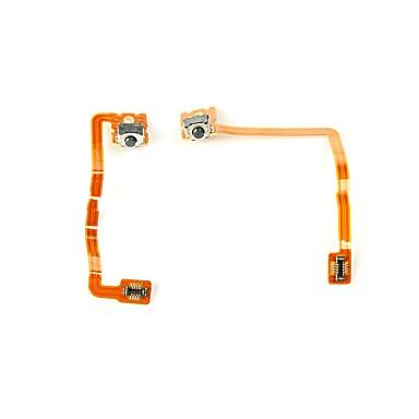 3DS XL/LL Kompleti za kontrolu igre Za Nintendo 3DS Prijenosno / New Design Kompleti za kontrolu igre PVC / Metal 2 pcs jedinica