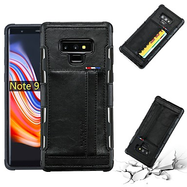 Θήκη Za Samsung Galaxy S8 Plus / S8 Utor za kartice / Otporno na trešnju / Protiv prašine Stražnja maska Jednobojni Mekano PU koža