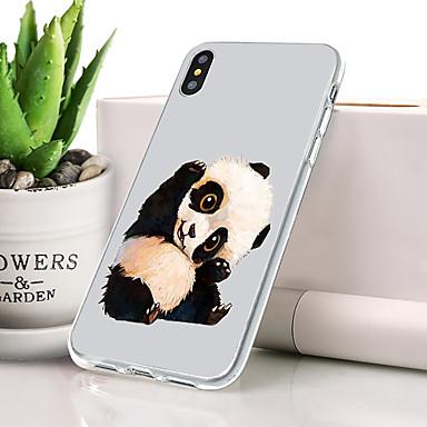 Θήκη Za Apple iPhone XS Max Protiv prašine / Ultra tanko / Uzorak Stražnja maska Životinja Mekano TPU