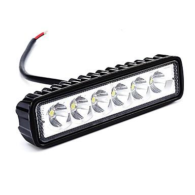 olcso Szerelő világítás-OTOLAMPARA 1 darab Autó Izzók 18 W Magas teljesítményű LED 1800 lm 6 LED Munkafény Kompatibilitás Ford / Renault / General Motors Escort / Sierra / Edge Minden évjárat