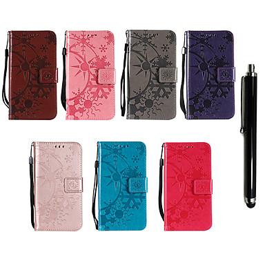 Недорогие Чехлы и кейсы для Nokia-Кейс для Назначение Nokia Nokia 9 / Nokia 8 / 8 Sirocco Кошелек / Бумажник для карт / со стендом Чехол Однотонный Твердый Кожа PU