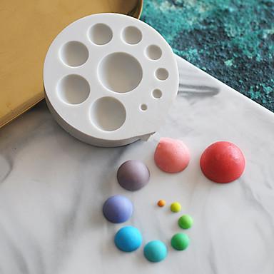 1pc Silikon Lijep Torta / kolači Za posuđe za kuhanje Krug Torte za kalupe Bakeware alati