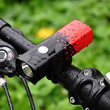 Svjetla za bicikle Prednje svjetlo za bicikl Brdski biciklizam Bicikl Biciklizam Vodootporno Prijenosno 18650 800 lm 18650 Bijela Kampiranje / planinarenje / Speleologija Biciklizam