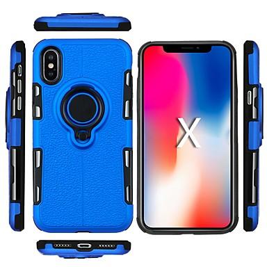Недорогие Кейсы для iPhone X-Кейс для Назначение Apple iPhone XS / iPhone XR / iPhone XS Max Защита от удара / Защита от пыли / Защита от влаги Кейс на заднюю панель Однотонный Мягкий ТПУ
