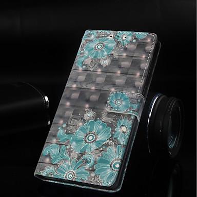 Θήκη Za Huawei Huawei Note 10 / Huawei Honor 10 / Huawei Honor 8X Novčanik / Utor za kartice / sa stalkom Korice Cvijet Tvrdo PU koža