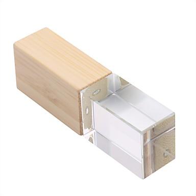 Недорогие USB флеш-накопители-16 Гб флешка диск USB USB 2.0 деревянный Необычные Беспроводной диск памяти