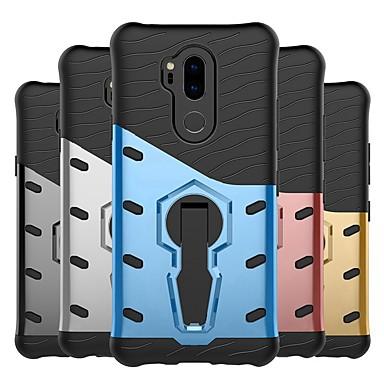 Θήκη Za LG LG X Style / LG X Power / LG V20 Otporno na trešnju / sa stalkom / Mutno Stražnja maska Oklop Tvrdo PC / LG G6