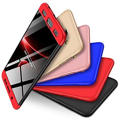 رخيصةأون حافظات / جرابات هواتف جالكسي J-غطاء من أجل Samsung Galaxy J7 Max ضد الصدمات / مثلج غطاء خلفي لون سادة قاسي الكمبيوتر الشخصي
