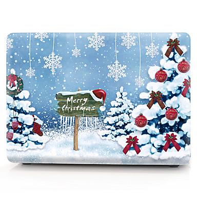 macbook case ulje na platnu stablo / božićni pvc za zrak pro retina 11 12 13 15 laptop poklopac slučaj za macbook novi pro 13.3 15 inčni sa dodirnom trakom