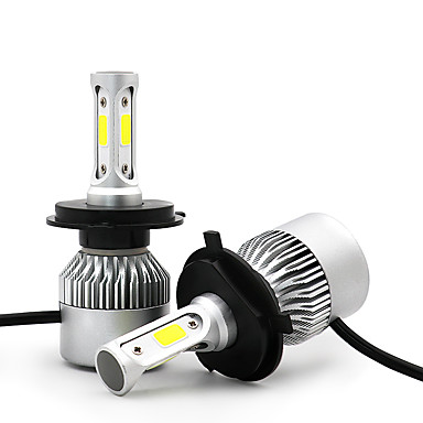 voordelige Autokoplampen-3800lm c6 cob led conversie kit h4