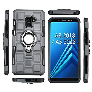 Θήκη Za Samsung Galaxy A5(2018) / A8 2018 / A8+ 2018 Otporno na trešnju / Prsten držač Stražnja maska Oklop Mekano TPU
