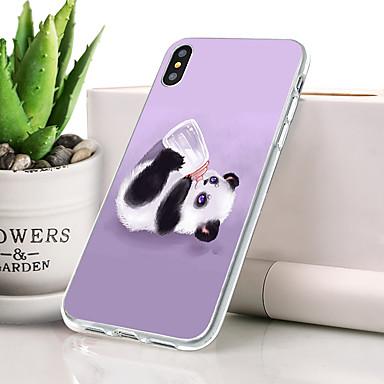 Θήκη Za Apple iPhone XR Protiv prašine / Ultra tanko / Uzorak Stražnja maska Životinja / Panda Mekano TPU