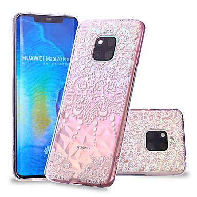voordelige Huawei Mate hoesjes / covers-hoesje Voor Huawei Huawei Nova 3i / P smart / Huawei P Smart Plus Patroon Achterkant Mandala Zacht TPU