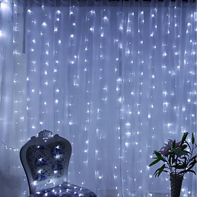 BRELONG® 6m Žice sa svjetlima 600 LED diode Toplo bijelo / RGB / Bijela Vodootporno / Party / Ukrasno 220-240 V 1pc