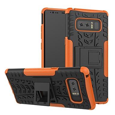hoesje Voor Samsung Galaxy S9 / S9 Plus / S8 Plus Schokbestendig / met standaard Achterkant Geometrisch patroon Hard Siliconen / PC